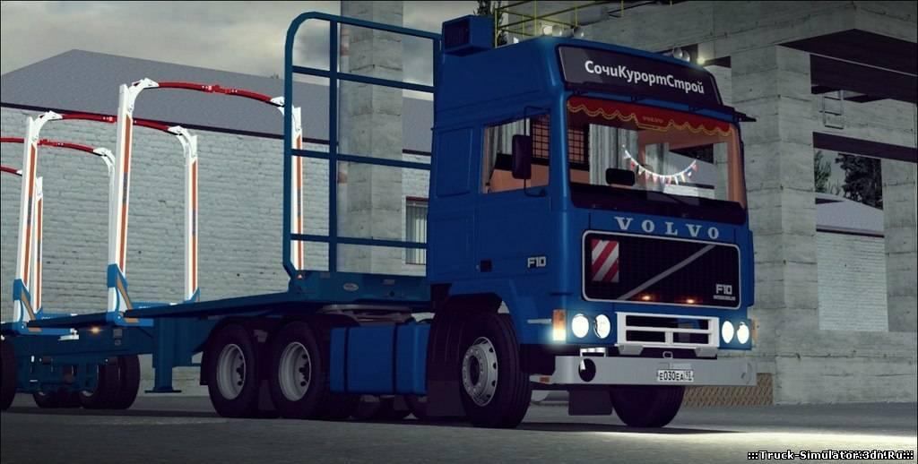 Мод Для German Truck Simulator Карта России